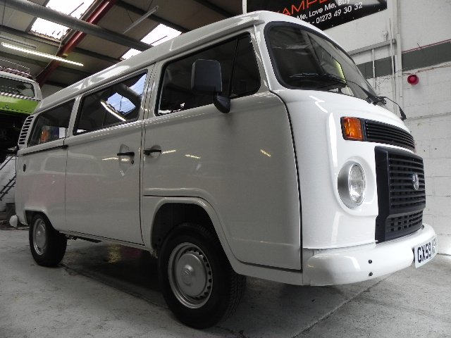 ee35406004 I believe this to be the only unconverted Brazilian Kombi in the UK that is  100% stock. This camper was brought into the UK in 2009