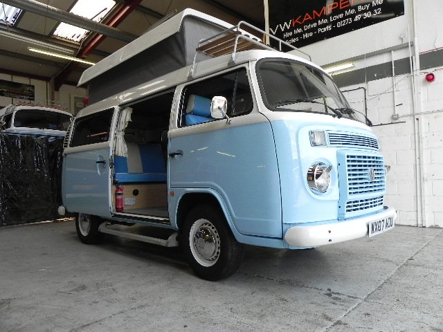 0c509a5fcb3efc 2007 Baby Blue Danbury Rio We have just taken this very well spec d camper  into stock